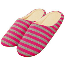 Winter Women Indoor Soft Non-slip Slippers House Home Shoes Cozy Warm Red US 6