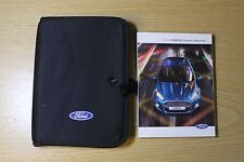 FORD FIESTA HANDBOOK OWNERS MANUAL WALLET AUDIO NAVI SYNC  2013-2016 PACK