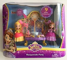 Disney Sofia the First Masquerade Party Princess Amber Gift Girls Toy Mattel New