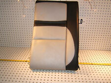 Mercedes 99 C43 AMG rear seat R inner section leather Black/ white back 1 Cover