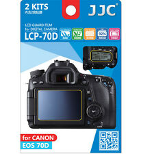 JJC LCP-70D ultra hard polycarbonate LCD Film Screen Protector Canon EOS70D 70D