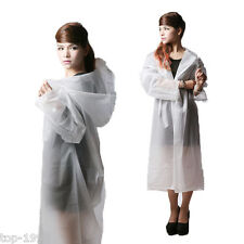 Unisex EVA Transparent Hiking Travel Women Waterproof Raincoat Rainwear Poncho