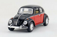 1:32 Volkswagen 1967 Beetle Coupe Diecast Model Car 1/32 Scale By Kinsmart Black