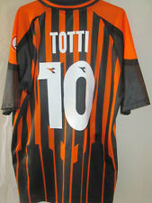 Roma 1997-1998 Totti 10 Away Third Football Shirt  Large /2516