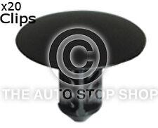 Trim Clip 6,7 mm COFANO ISOLANTE CLIP RENAULT LAGUNA / LOGAN ETC 10226re 20PK