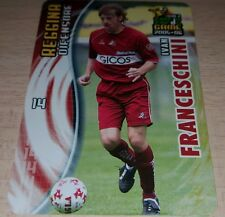 CARD CALCIATORI PANINI 2005-06 REGGINA FRANCESCHINI CALCIO FOOTBALL SOCCER ALBUM
