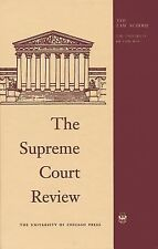 The Supreme Court Review, 1998 (Supreme Court Review), , Excellent Book