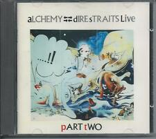 DIRE STRAITS - Alchemy Dire Straits Live (PART TWO) CD 5TR (RED SWIRL) 1984