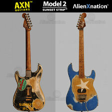AXN™ SUNSET STRIP™ Model 2 Custom Boutique Electric Guitar USA