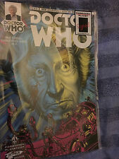 Doctor who  3rd  doctor  01  titan comic signed by  paul cornell