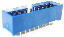 USB 3.0 Motherboard front panel header connector 19pin 20pin Through hole solder