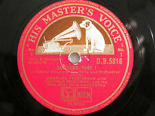 3x 78rpm BLOCH SCHELOMO - EMANUEL FEUERMANN Cello + STOKOWSKI - HARD TO FIND !