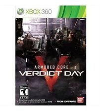Armored Core: Verdict Day USED SEALED (Xbox 360) Free Shipping