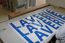 25 Caractères ou 1 ligne 50 cm deTexte perso en Lettres Adhésives de 5cm haut