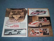 1989 Pontiac Trans Am GTA Don Prudhomme Special Edition Vintage Article