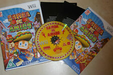 NINTENDO Wii GAME SAMBA DE AMIGO +BOX & INSTRUCTIONS COMPLETE PAL