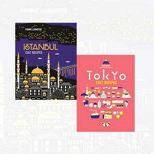 Cult Recipes Collection 2 Books Set Istanbul Cult Recipes & Tokyo Cult Recipes