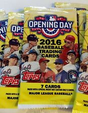 New 2016 Topps MLB Opening Day From Box 1 packs 7 cards Baseball Mets Lot Relic?