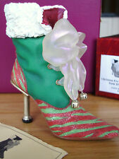 Just The Right Shoe - Christmas Eve Ball  Boot #25220 1st Annual Christmas Shoe