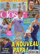 CLOSER N°578 nikos arthur & mareva galanter taylor swift