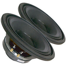 "Pair Radian 5210 2-Way Coaxial Fullrange Speaker 10"" 8 ohm 375W RMS Replacement"