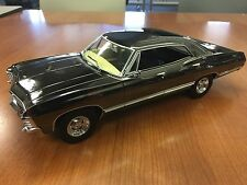 Supernatural Greenlight 1967 Impala Super Sport BABY Black Chrome 1:18 Scale New