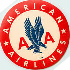 AMERICAN AIRLINES - Classic Old Luggage Label, 1955