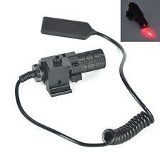 Tactical Red Laser Beam Dot Sight Scope Picatinny Mount for Gun Rifle Pistol