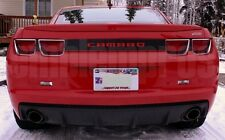 GM LICENSED, CAMARO REAR BUMPER LETTERING COLORS UV RATED COMPOSITE