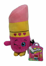 "NEW Shopkins 6"" Lippy Lips Plush Toy - Official Product + Stickers Gift Xmas"