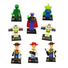 8pcs/lot Toy Story Minifigures Building Blocks Sets Model Minifigures Bricks Toy