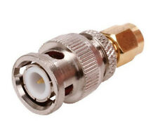 BNC Male To SMA Male Convertor Adaptor Gold
