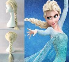 GIRLS / Child Size Frozen Snow Queen Princess Elsa Blonde Braid Wig