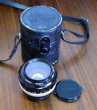 Nikon 55mm 1:1 .2 standard objetivamente lens Nikkor