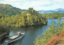 B100151 ship bateaux the sir walter scott trossachs pier loch katrine scotland