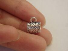 10 colgante dije bails colgante plata tibetana antiguo joyería estilo gb 8x6mm