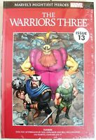 MARVEL'S MIGHTIEST HEROES # 13: THE WARRIORS THREE (Hardcover Graphic Novel) NEW