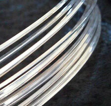 5Ft 21 GA Sterling Silver Filled ROUND Half Hard Jewelry Wire Wrap Gauge G