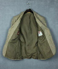 -VINTAGE- HARRIS TWEED Men's 100% Wool Shell Blazer / Jacket [UK 34 or ~SMALL*]