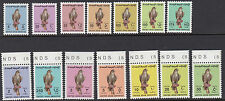 UAE : 1990 Birds definitives- original set 5f-50d ex later values SG 284-300 MNH