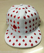 Trendy White HipHop Snapbacks Cap Hat Headgear for all