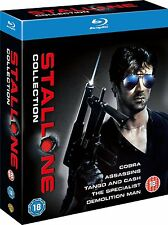 THE SYLVESTER STALLONE COLLECTION 5 MOVIE SET BLU-RAY ENGLISCH