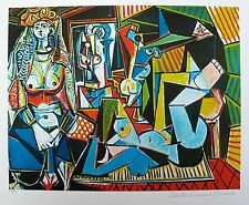 Pablo Picasso WOMEN OF ALGIERS Estate Signed Limited Edition Giclee