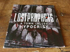 LOSTPROPHETS - CD collector 1T / 1 track promo CD !!! A TOWN CALLED HYPOCRISY !!