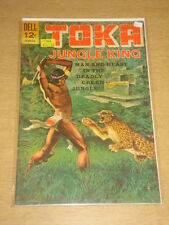 TOKA JUNGLE KING #1 FN (6.0) DELL COMICS OCTOBER 1964