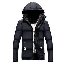 Men's Winter Warm Jacket Hooded Winter Thick FLEECE Coat Parka Overcoat Outwear