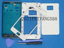 NEW White Housing Cover Glass+Lens Screen For Samsung Galaxy S2 II GT-I9100