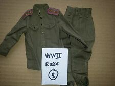 Action Figure 1/6 Loose Divers WWII Russe Lot 8 - Dragon BBI DID Soldier Story