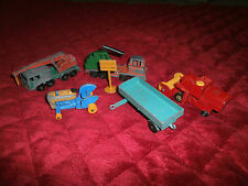 MATCHBOX + TOOTSIE TOY OLDER FARM VEHICLES MADE IN ENGLAND BY LESNEY