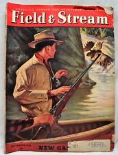 FIELD & STREAM MAGAZINE SEPTEMBER 1948 VINTAGE HUNTING FISHING OUTDOOR SPORTS